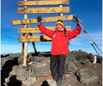 Килиманджаро. Высота 5 895 м. Февраль 2018
